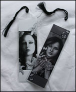 Bookmarks with Dark Lily and Unleash the butterflies