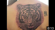 Zindy Tiger Tattoo