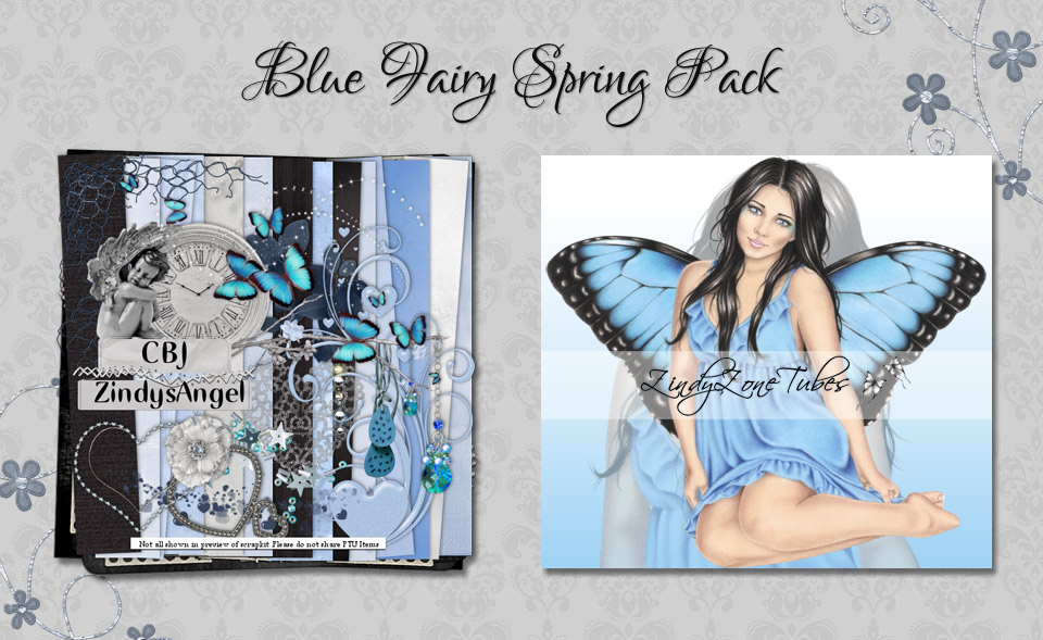 Blue Fairy Spring Pack