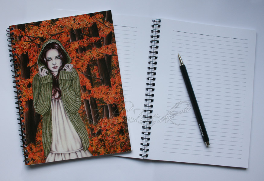 Autumn Walk Notebook