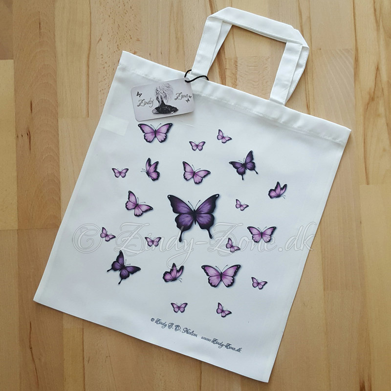 Butterflies Pink Tote Bag