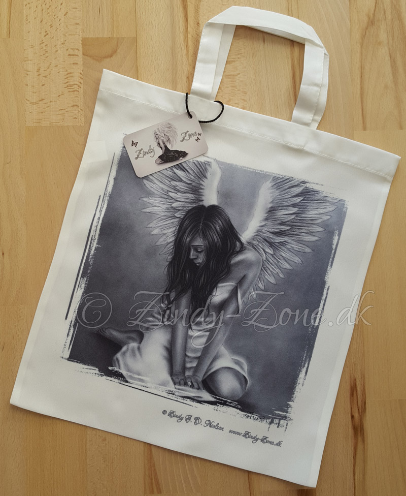 Heartbroken Angel Tote bag