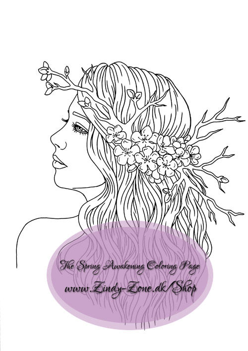 The Spring Awakening Coloring Page