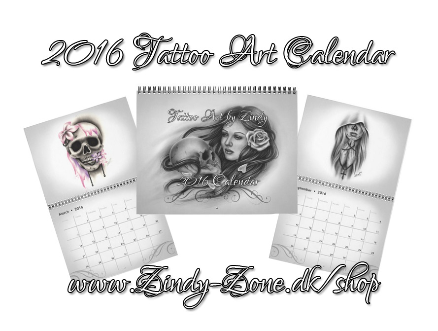2016 Tattoo Art Calendar